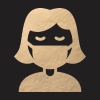 Icon of a female with a face mask