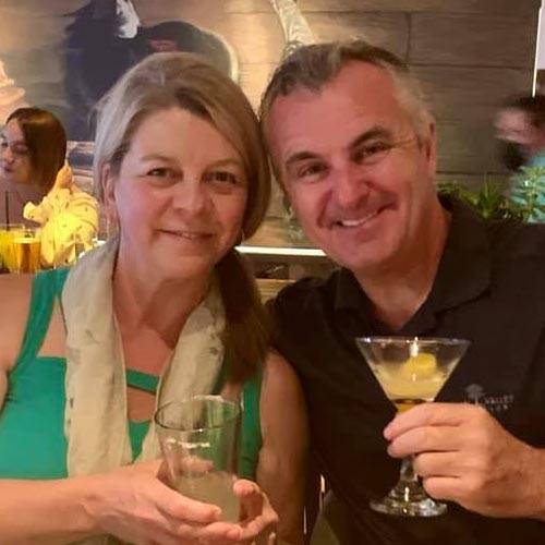 Debbie and Mark Nagle
