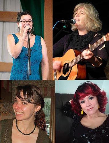 Cathy Jordan, Niamh Parsons, Clare Horgan, and Geneviève Galarneau