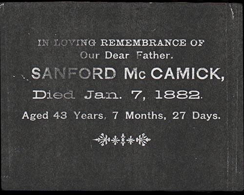 Samuel Sanford McCormick