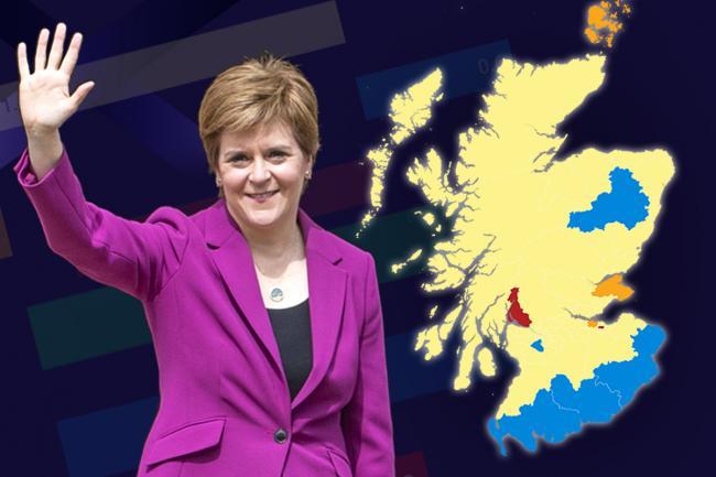 Scottish Election Map