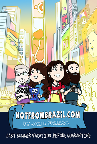 New Notfrombrazil graphic novel out from Vanessa Bettencourt