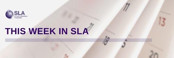 This Week in SLA