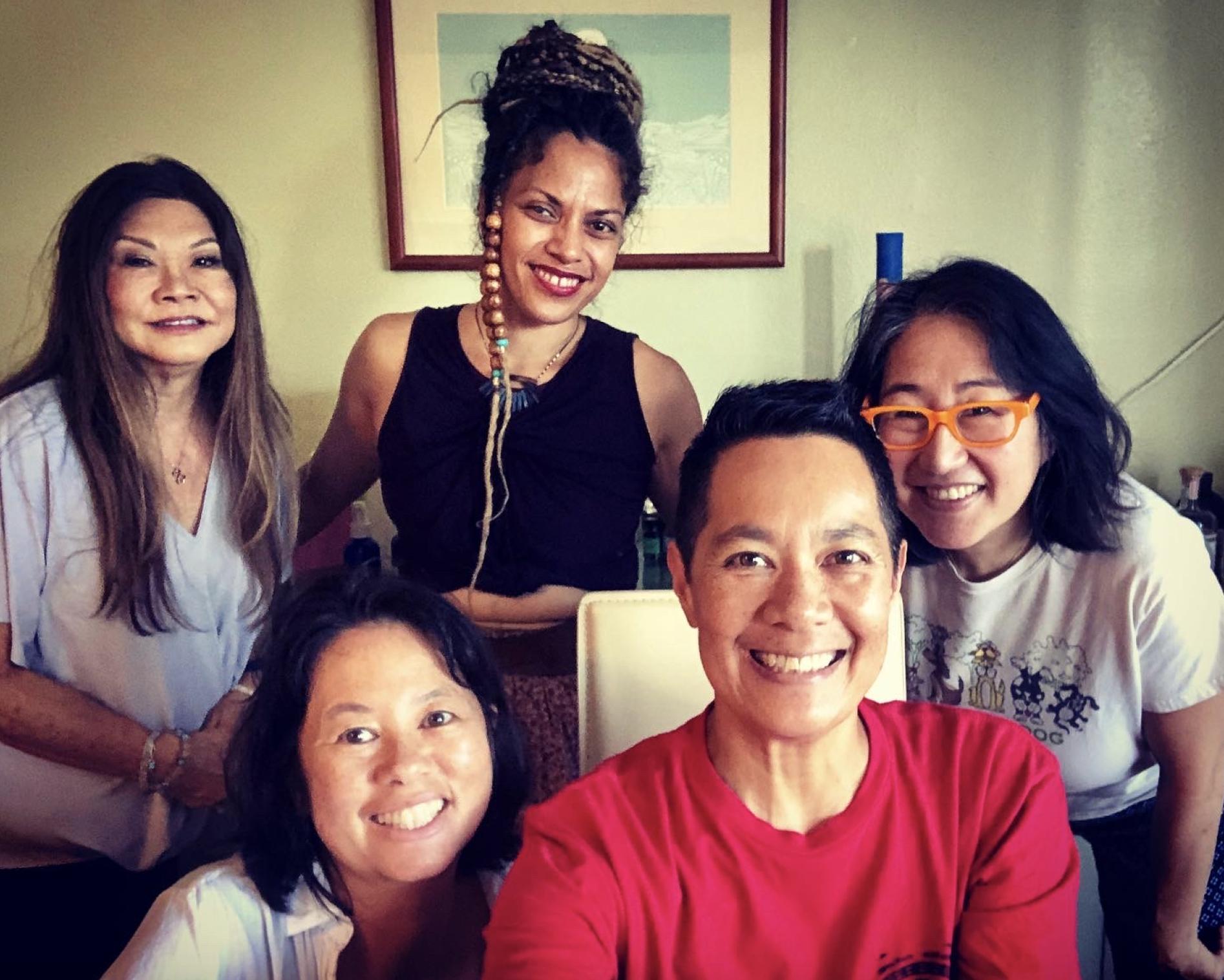 Karuna Reiki students with Dr. Chris