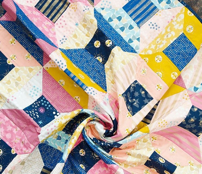rashida-colman-hale-stellar-fabric-collection-portal-quilt