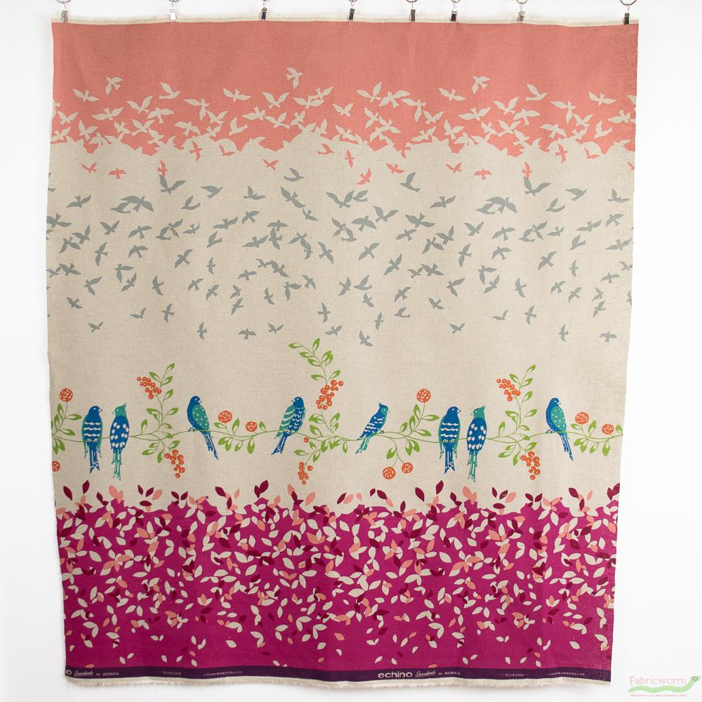 birdsong-echino-pink-fabric-fabricworm
