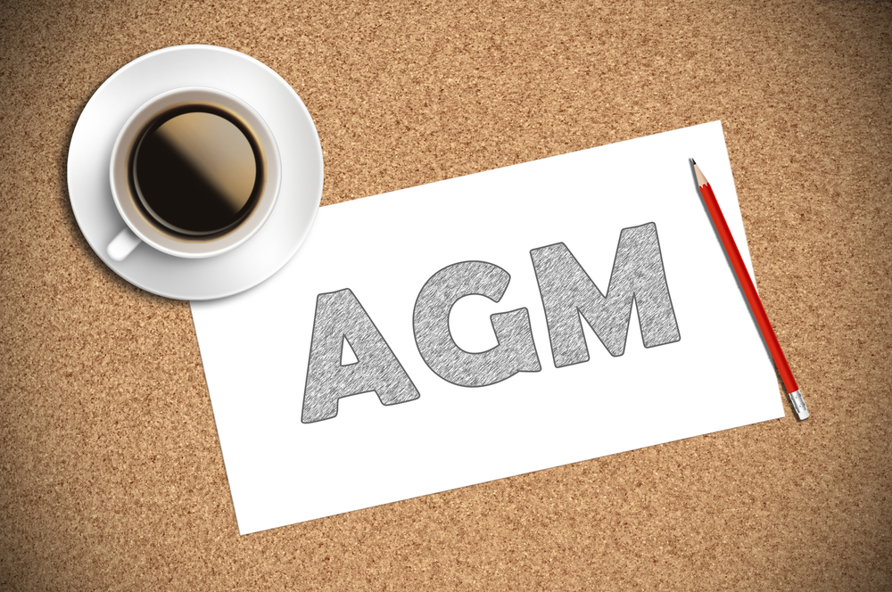 15th May Online AGM