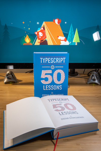TypeScript in 50 Lessons - Photo by Marc Thiele