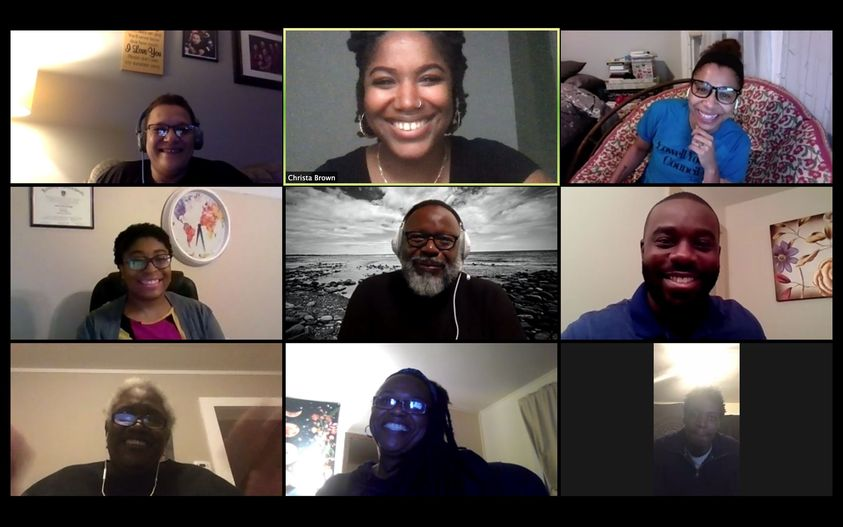 Zoom meeting by Free Soil Arts Collective