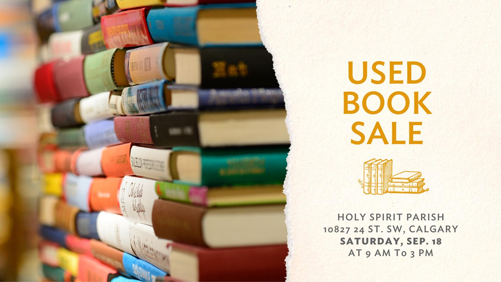Holy Spirit Book Sale