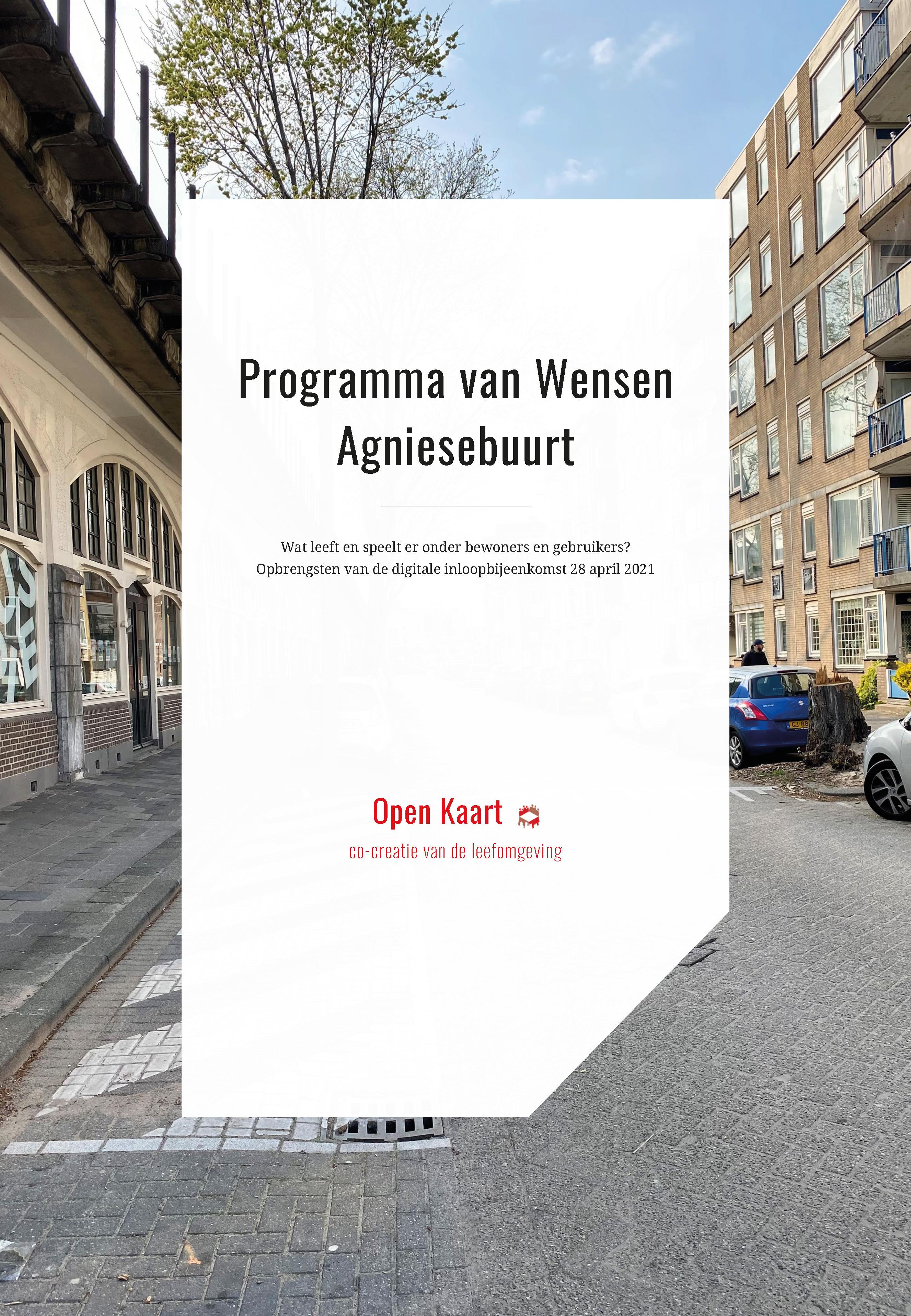Programma van Wensen Agniesebuurt - Open Kaart