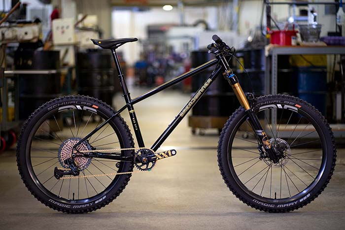 Breadwinner Cycles Enduro Style Mt. Bike