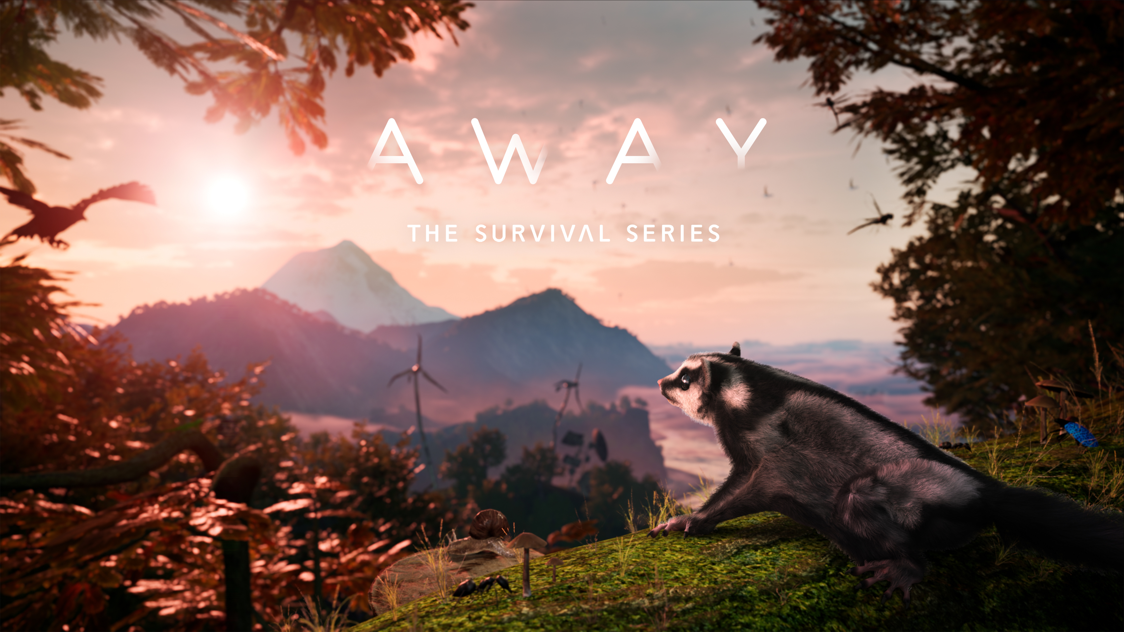 Story-based sugar glider adventure AWAY: The Survival Series is coming to PlayStation 5 in late Summer
