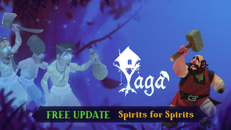 ACTION RPG YAGA NOW AVAILABLE ON STEAM FOR PC
