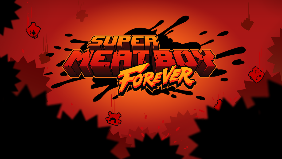 Super Meat Boy Forever is out now on Switch and the Epic Games Store, for realz