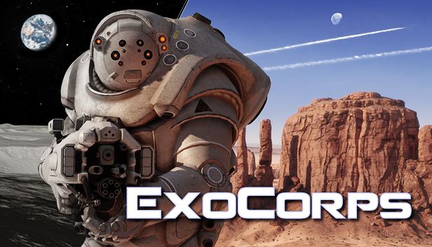 Engage in jetpack-fueled cat-and-mouse aerial battles in ExoCorps, now on Steam Early Access