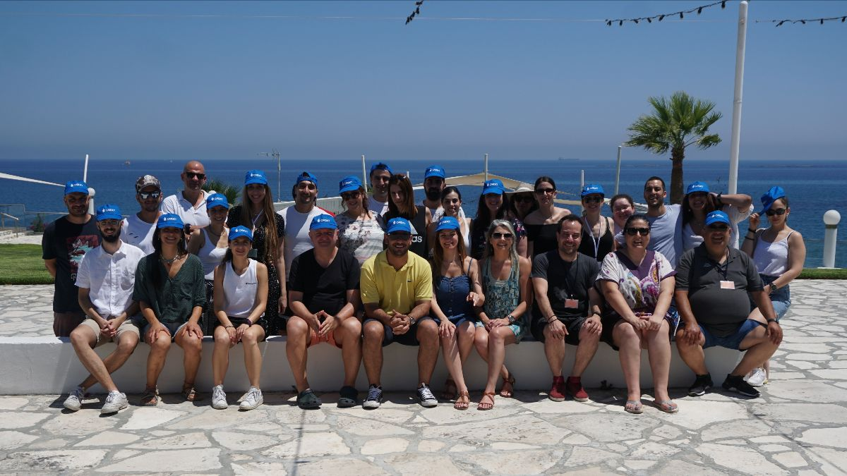 CARDET team group photo in Limassol, July 2020