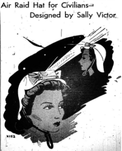 Women's Wear Daily featured designer Sally Victor's hats on their cover on December 16, 1941.