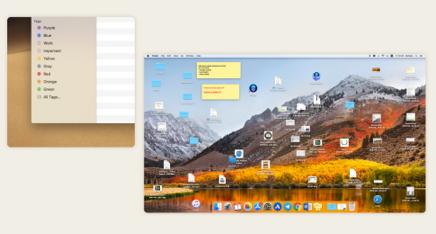 A photo of an unorganized computer desktop.