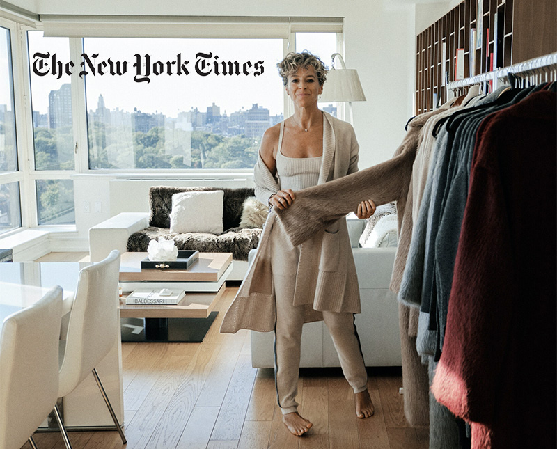 Michelle Smith in her apartment; Simbarashe Cha for The New York Times
