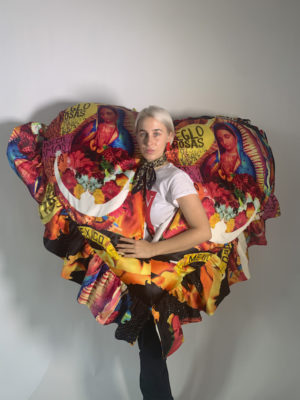 Ana Bergero in one of her MFA thesis creations.