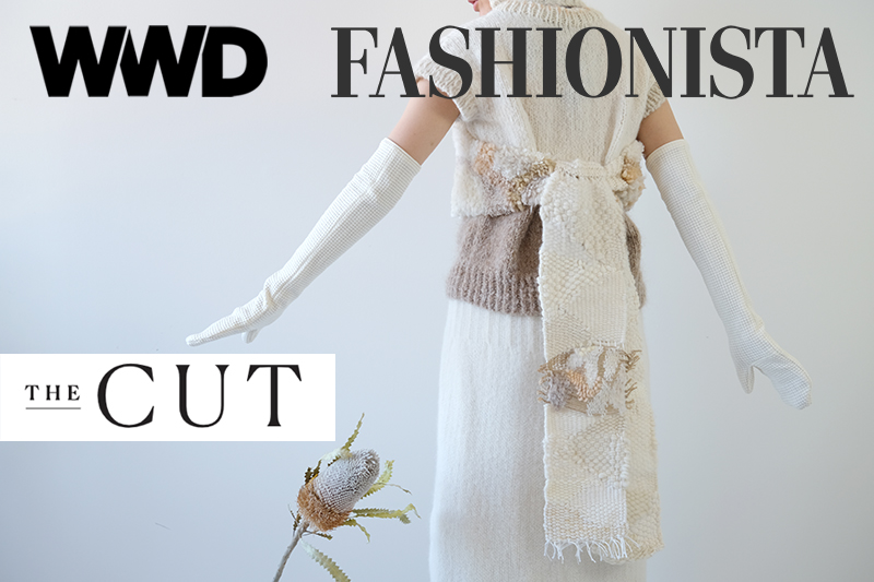 student design with logos from The Cut, WWD and Fashionista