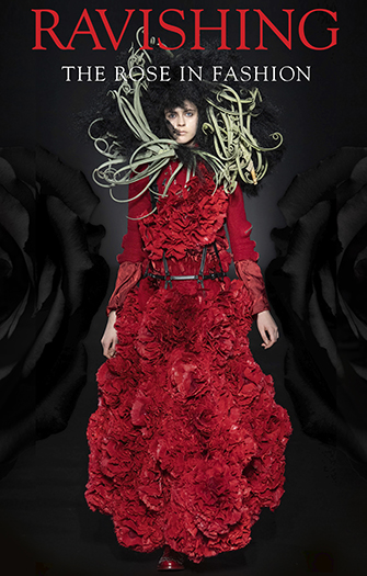 Noir Kei Ninomiya, ensemble, red wool, resin-treated faux fur, nylon, spring 2020. Photograph © Noir Kei Ninomiya, photograph courtesy Comme des Garçons.