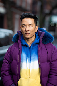 Prabal Gurung photographed by Joanna Totolici.