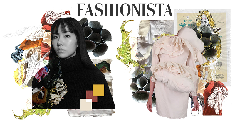 Jenny Feng's moodboards for Supima competition and Fashionista logo