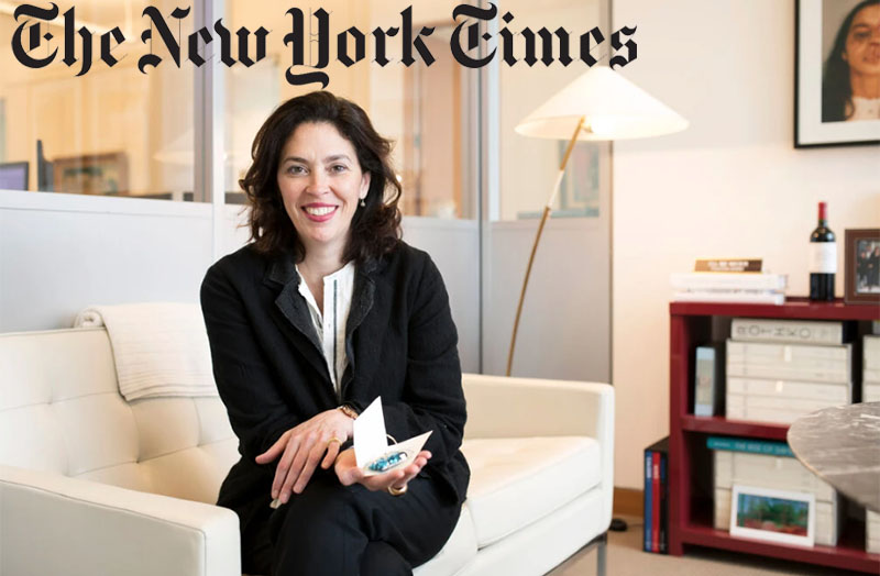 Amy Cappellazzo. Karsten Moran for The New York Times