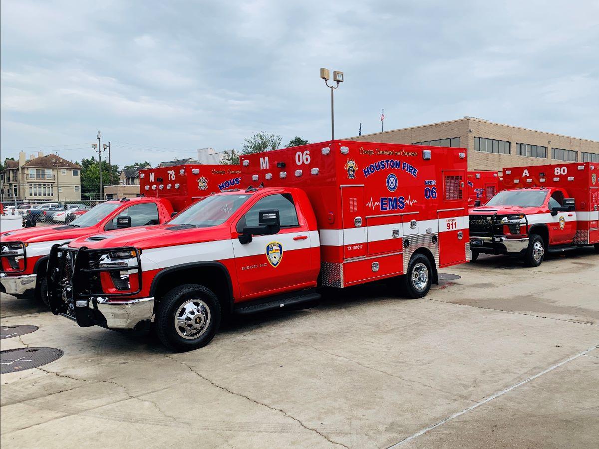 New HFD Ambulances