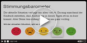 Screencast #2 - Stimmungsbarometer - Azubiansicht
