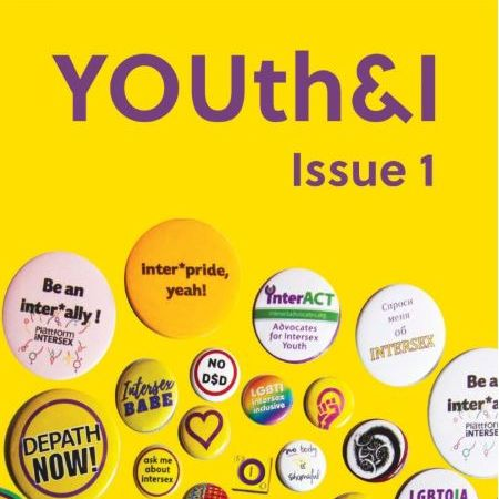 Cover of Youth and i magazine with badges