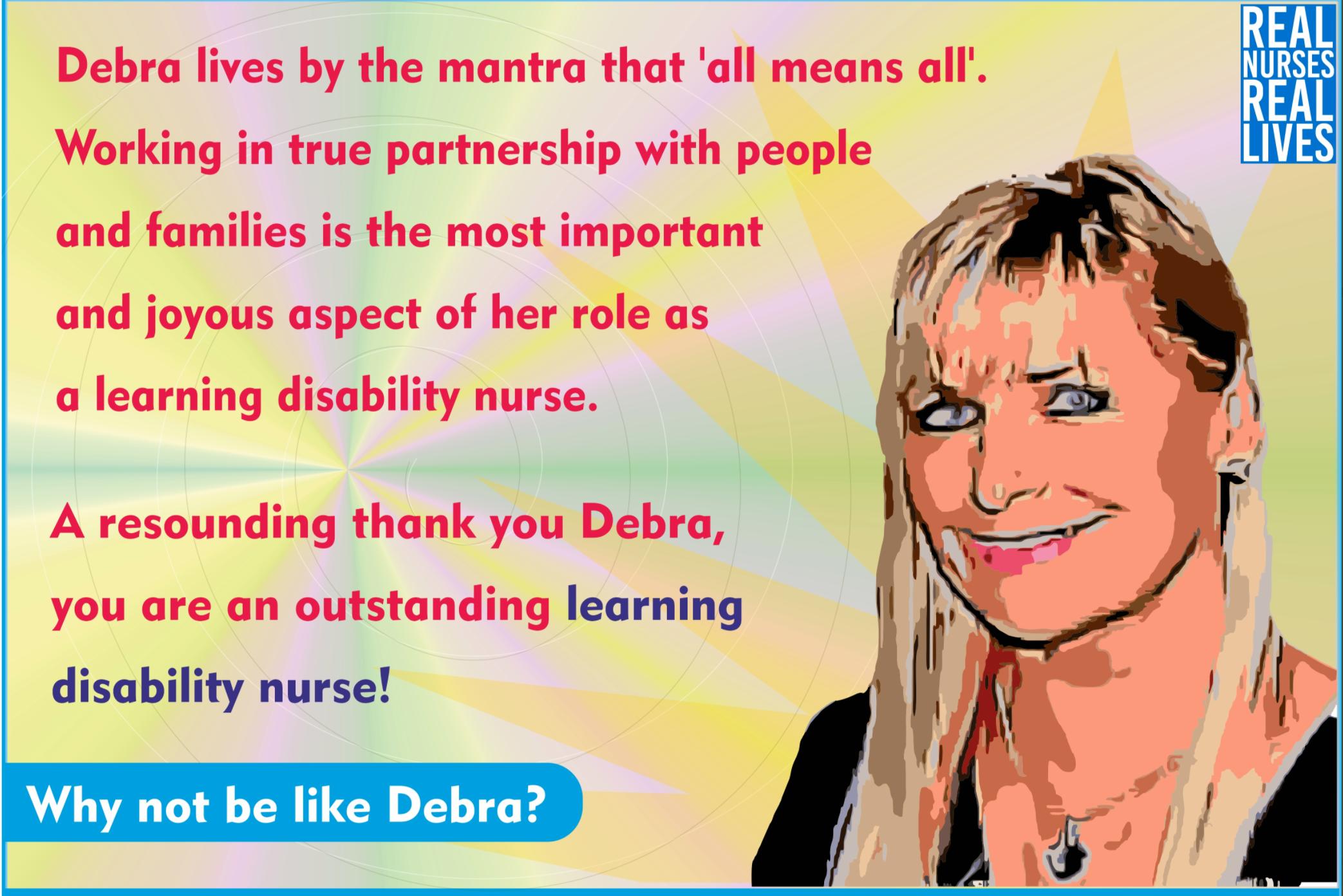 Real Nurses, Real Lives postcard