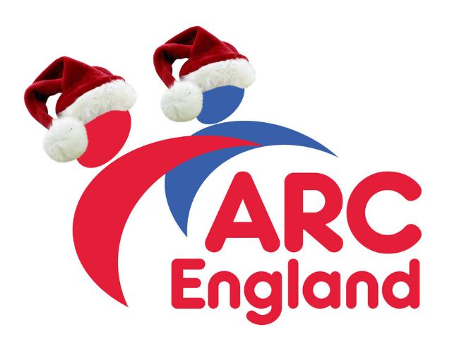 ARC England Christmas logo