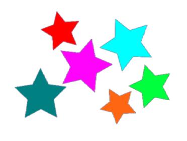 Multicoloured stars