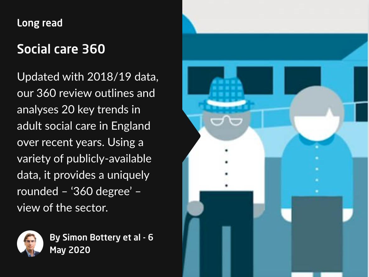 Kings Fund Social Care 360 screenshot