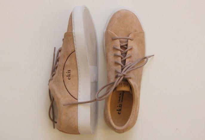 Oak low Sneaker von Ekn in der Farbe Lachs