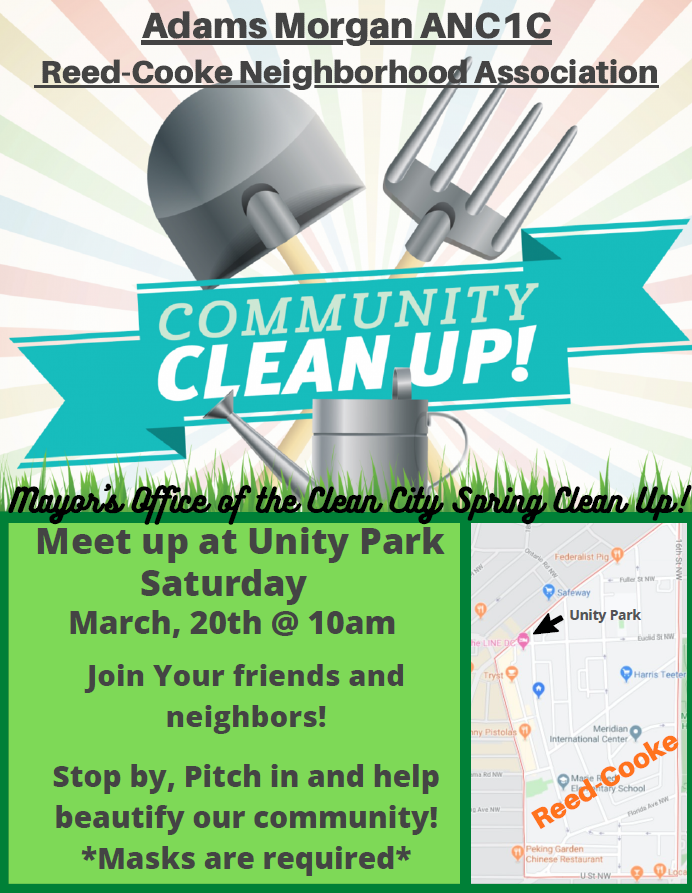 RCNA Cleanup Flyer