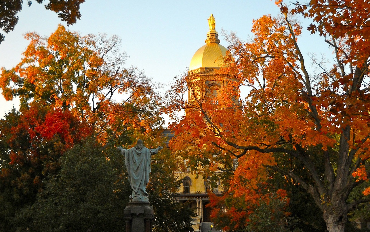 Snapshots: Fall at ND // The General Ledger // Blog Network // University  of Notre Dame
