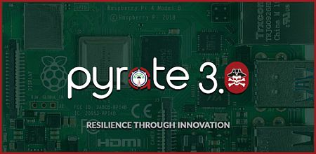 Pyrate 3.0 software IMG for Raspberry Pi