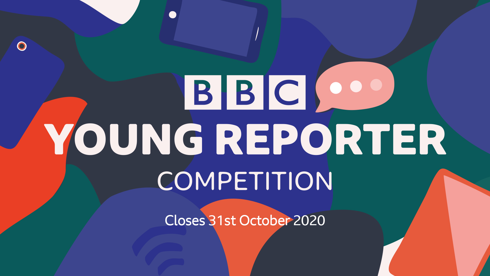 BBC Young Reporter competition logo
