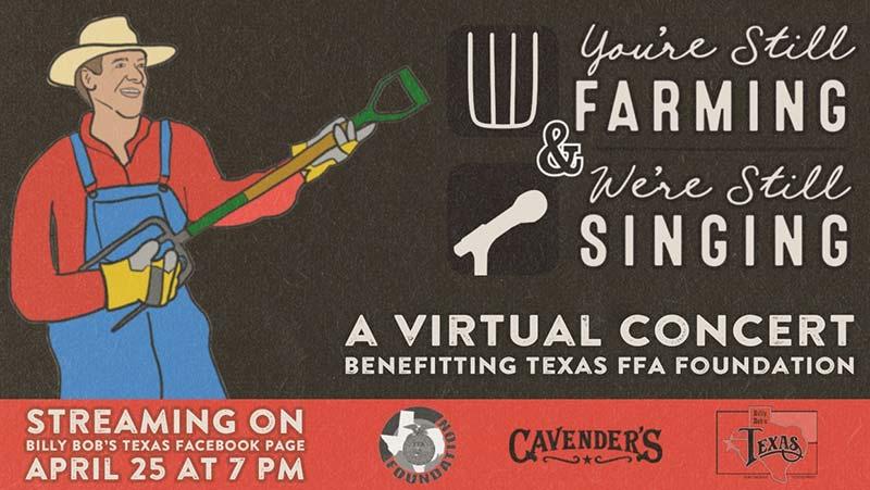 You're Still Farming & We're Still Singing virtual concert