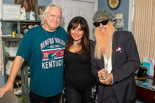 T. Graham Brown, Deborah Allen & Billy F. Gibbons (by Jeremy Westby)