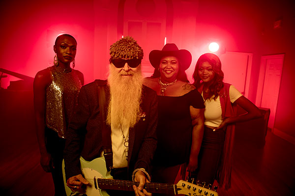 Chapel Hart with Billy F. Gibbons