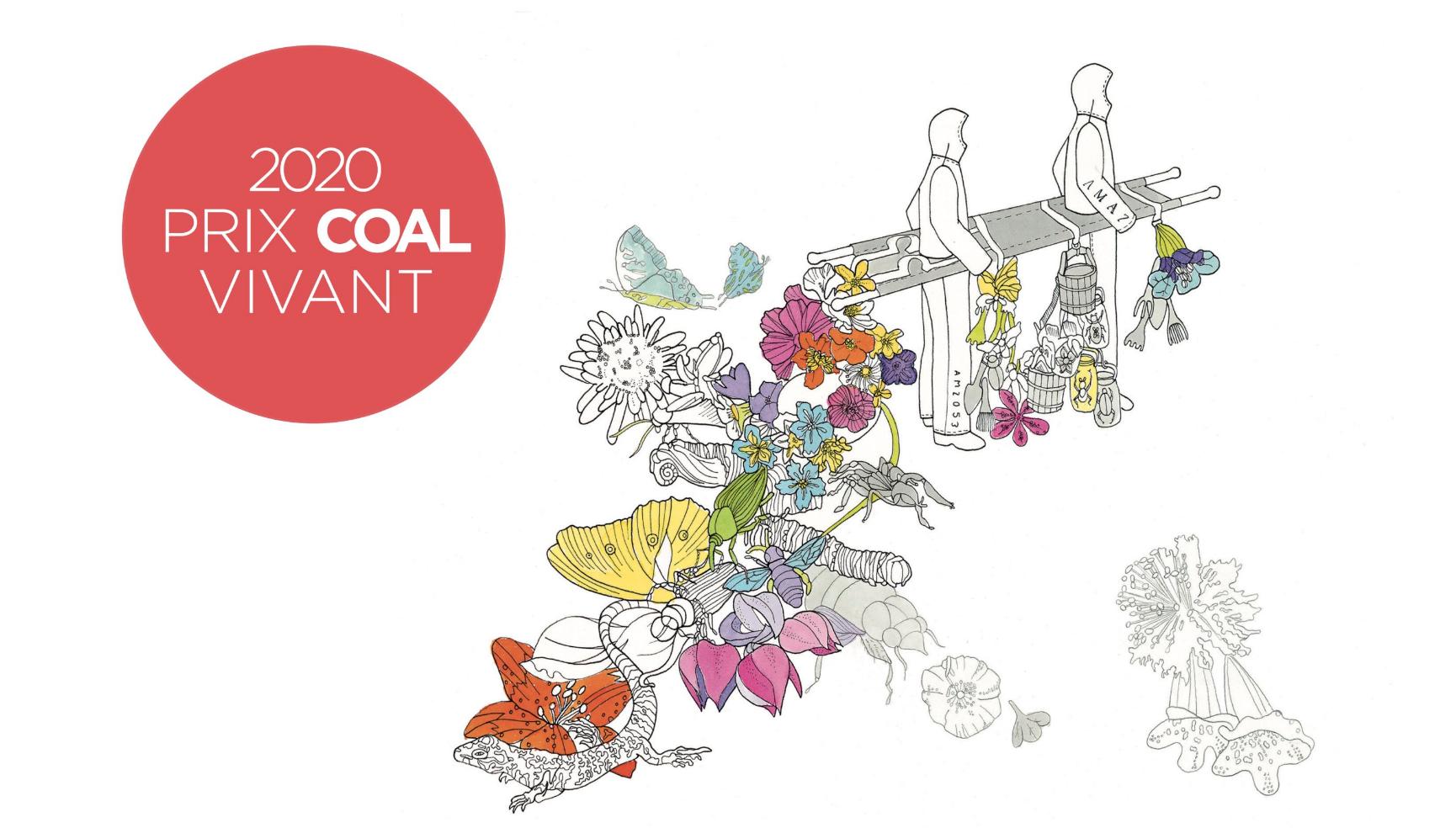 Le prix Coal 2020 - Art & Ecologie pour P. Duncombe et E. Saintagnan 804d2bd4-f92c-44e8-94c1-ccd6561cbc02