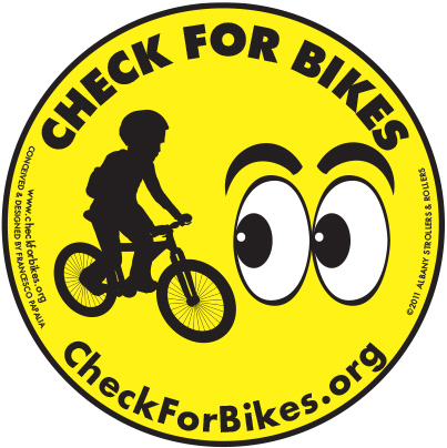 CheckForBikes Youth Cling