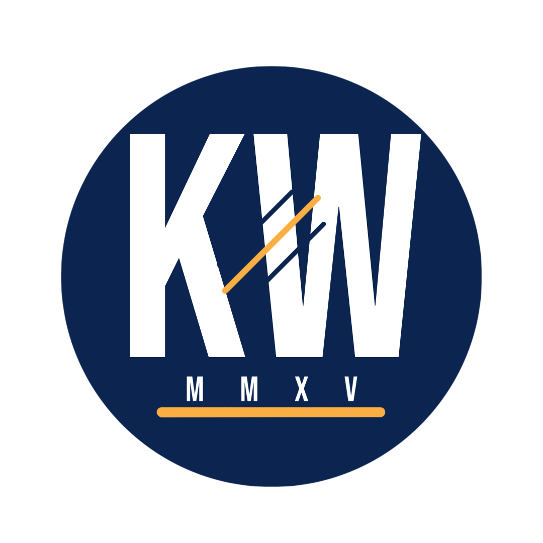 Kingdom Writers. 5 Year Anniversary Logo