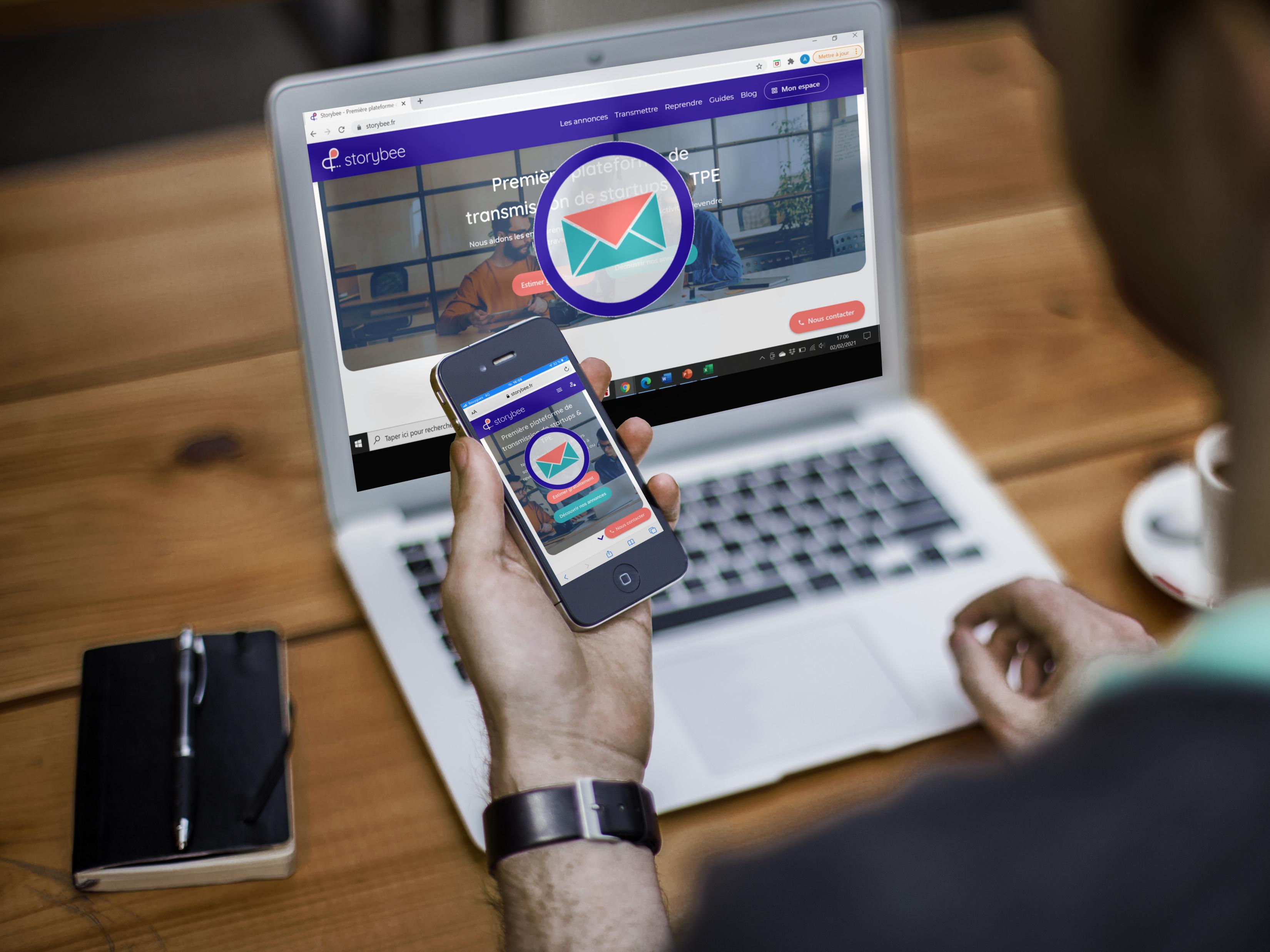 Article Storybee : Nouvelle fonctionnalité : messagerie