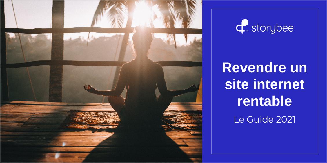 Article Storybee : Comment revendre un site internet rentable ? (Guide 2021)